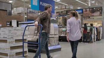 Lowe's TV Spot, 'Do It Right: Pergo Timbercraft Waterproof Laminate' - Thumbnail 1
