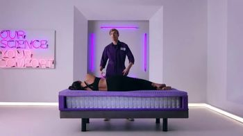 Purple Mattress TV Spot, 'Supports Pressure Points' - Thumbnail 1