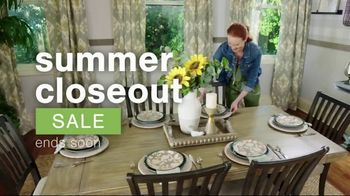 Ashley HomeStore Summer Closeout Sale TV Spot, 'Dining Chairs, Outdoor Furniture and 60 Months' - Thumbnail 2