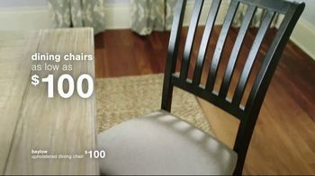 Ashley HomeStore Summer Closeout Sale TV Spot, 'Dining Chairs, Outdoor Furniture and 60 Months' - Thumbnail 3