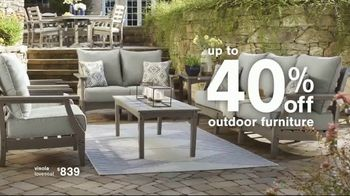Ashley HomeStore Summer Closeout Sale TV Spot, 'Dining Chairs, Outdoor Furniture and 60 Months' - Thumbnail 4