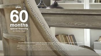 Ashley HomeStore Summer Closeout Sale TV Spot, 'Dining Chairs, Outdoor Furniture and 60 Months' - Thumbnail 5