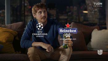 Heineken 0.0 TV Spot, 'UEFA Super Cup: nunca mirar solo: temblor' [Spanish] - Thumbnail 7
