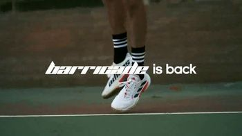 Tennis Warehouse TV Spot, 'Adidas Barricade Is Back' - Thumbnail 4