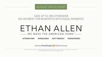 Ethan Allen August Sales Event TV Spot, 'Save up to 20%' - Thumbnail 5