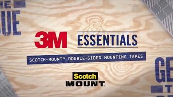 Scotch Mount TV Spot, 'Updated Line of Mounting Tapes'