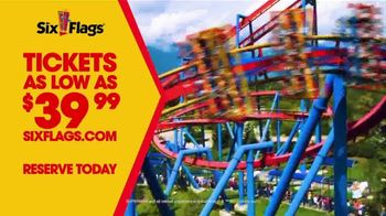Six Flags TV Spot, 'Now Open Weekends: Tickets As Low As $39.99' - Thumbnail 8