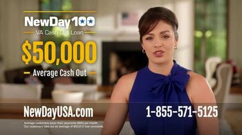 NewDay USA 100 VA Cash Out Loan TV Spot, '100 Reasons to Use Your Benefits' - 335 commercial airings