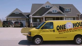 One Hour Heating & Air Conditioning TV Spot, 'Trained, Skilled and Experienced'