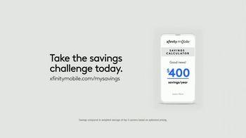 XFINITY Mobile TV Spot, 'You Deserve Better: Savings Challenge' - Thumbnail 9