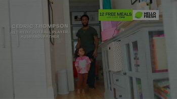 HelloFresh TV Spot, 'Game-Changer: 12 Free Meals' Featuring Cedric Thompson - Thumbnail 1