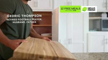 HelloFresh TV Spot, 'Game-Changer: 12 Free Meals' Featuring Cedric Thompson - Thumbnail 2