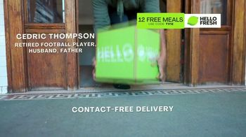 HelloFresh TV Spot, 'Game-Changer: 12 Free Meals' Featuring Cedric Thompson - Thumbnail 3