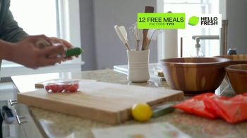 HelloFresh TV Spot, 'Game-Changer: 12 Free Meals' Featuring Cedric Thompson - Thumbnail 7