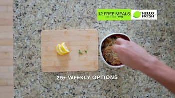 HelloFresh TV Spot, 'Game-Changer: 12 Free Meals' Featuring Cedric Thompson - Thumbnail 9