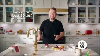WW TV Spot, 'Let Me Show You How: Phone Right There: 50% Off, $0 Down' Featuring James Corden - Thumbnail 2
