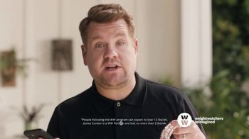 WW TV Spot, 'Let Me Show You How: Phone Right There: 50% Off, $0 Down' Featuring James Corden - Thumbnail 3