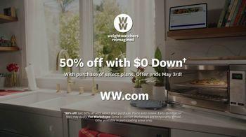 WW TV Spot, 'Pizza:  50% Off, $0 Down' Featuring James Corden - Thumbnail 10