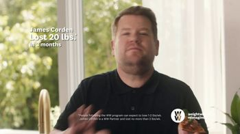 WW TV Spot, 'Pizza:  50% Off, $0 Down' Featuring James Corden - Thumbnail 5