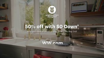 WW TV Spot, 'Pizza:  50% Off, $0 Down' Featuring James Corden - Thumbnail 9