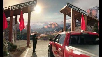 2021 Ram 1500 TRX TV Spot, 'Trucktopia: Power' Featuring Scott Van Pelt [T1] - Thumbnail 3
