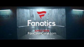 Fanatics.com Fan Cash Card TV Spot, 'Ear 6% Fan Cash' - Thumbnail 7