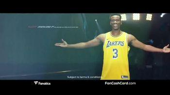 Fanatics.com Fan Cash Card TV Spot, 'Ear 6% Fan Cash' - Thumbnail 3