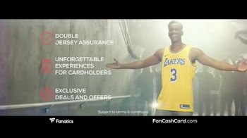 Fanatics.com Fan Cash Card TV Spot, 'Ear 6% Fan Cash' - Thumbnail 4