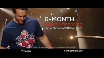Fanatics.com Fan Cash Card TV Spot, 'Ear 6% Fan Cash' - Thumbnail 6