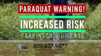 The Sentinel Group TV Spot, 'Parkinson's Disease: Paraquat'