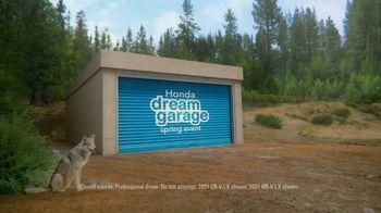 Honda Dream Garage Spring Event TV Spot, 'CR-V and HR-V' Song by Danger Twins [T2] - Thumbnail 1