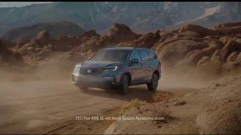Honda Dream Garage Spring Event TV Spot, 'Pilot, Passport and Ridgeline' Song by Danger Twins [T2] - Thumbnail 5