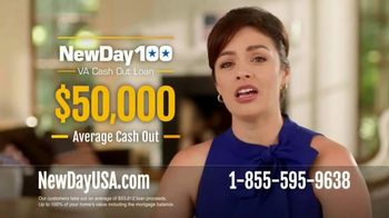 NewDay 100 VA Cash Out Loan TV Spot, 'Once-in-a-Lifetime Chance'