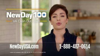 NewDay USA 100 VA Cash Out Loan TV Spot, 'Three Reasons to Refinance'
