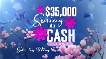 Coushatta Casino Resort Spring Into Cash Giveaway TV Spot, 'Cash Time' Featuring Terry Bradshaw