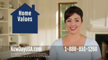 NewDay USA 100 VA Cash Out Loan TV Spot, 'More Equity Than You Think' - 348 commercial airings