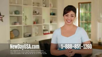 NewDay USA 100 VA Cash Out Loan TV Spot, 'More Equity Than You Think' - Thumbnail 5