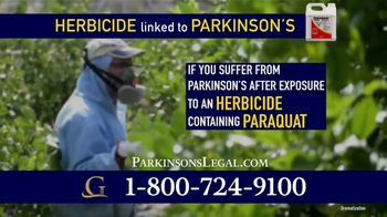 Goldwater Law Firm TV Spot, 'Herbicide Called Paraquat Linked to Parkinson's' - Thumbnail 3