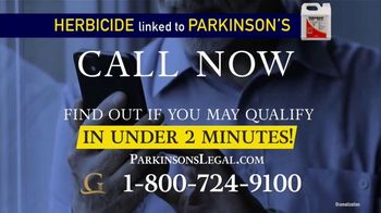 Goldwater Law Firm TV Spot, 'Herbicide Called Paraquat Linked to Parkinson's' - Thumbnail 5