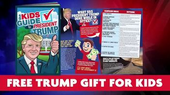 Learn Our History TV Spot, 'The Kids Guide to President Trump' - Thumbnail 4
