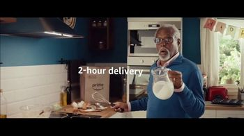 Amazon Prime 2-Hour Grocery Delivery TV Spot, 'Trouble Ahead' Song by Nat King Cole - Thumbnail 3
