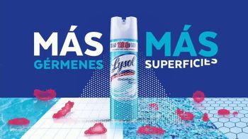 Lysol Disinfectant Spray TV Spot, 'Simple hecho' [Spanish]