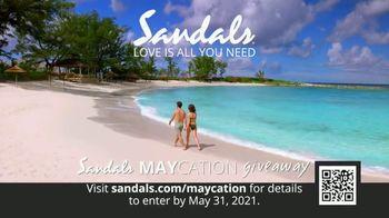 Sandals Resorts TV Spot, 'Maycation Giveaway: Unsung Heroes' - Thumbnail 8