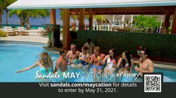Sandals Resorts TV Spot, 'Maycation Giveaway: Unsung Heroes' - Thumbnail 3