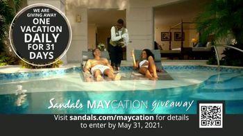 Sandals Resorts TV Spot, 'Maycation Giveaway: Unsung Heroes' - Thumbnail 5