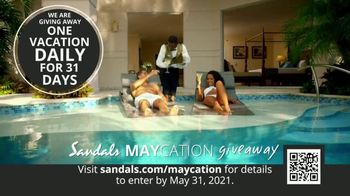 Sandals Resorts TV Spot, 'Maycation Giveaway: Unsung Heroes' - Thumbnail 6