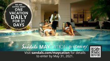 Sandals Resorts TV Spot, 'Maycation Giveaway: Unsung Heroes' - Thumbnail 7