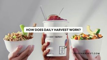 Daily Harvest TV Spot, 'How Does it Work?'