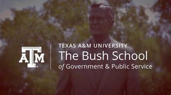 Bush School of Government and Public Service TV Spot, 'Master of International Policy' - Thumbnail 3