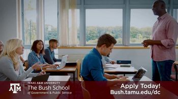 Bush School of Government and Public Service TV Spot, 'Master of International Policy' - Thumbnail 4